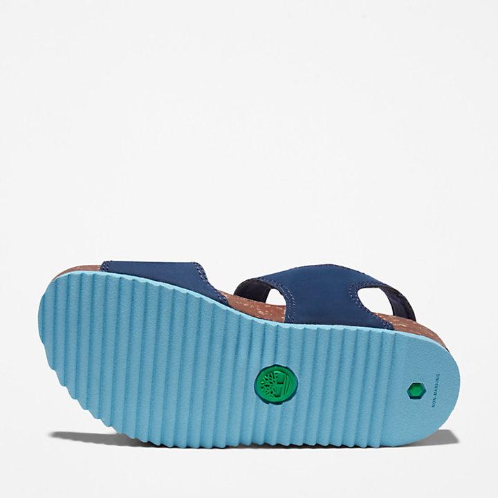 Sandalo da Bambino (dal 30,5 al 35) con Cinturino Posteriore Castle Island in blu marino-