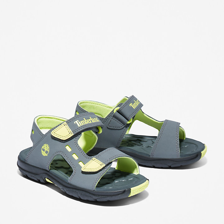 Moss Jump Sandal for Youth in Grey-