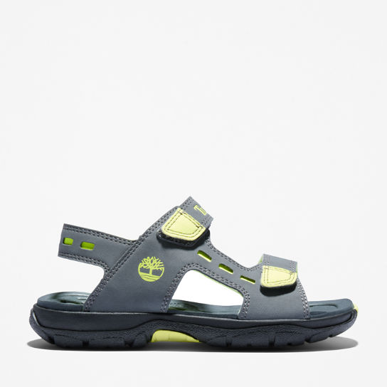 Moss Jump Sandal for Youth in Grey | Timberland
