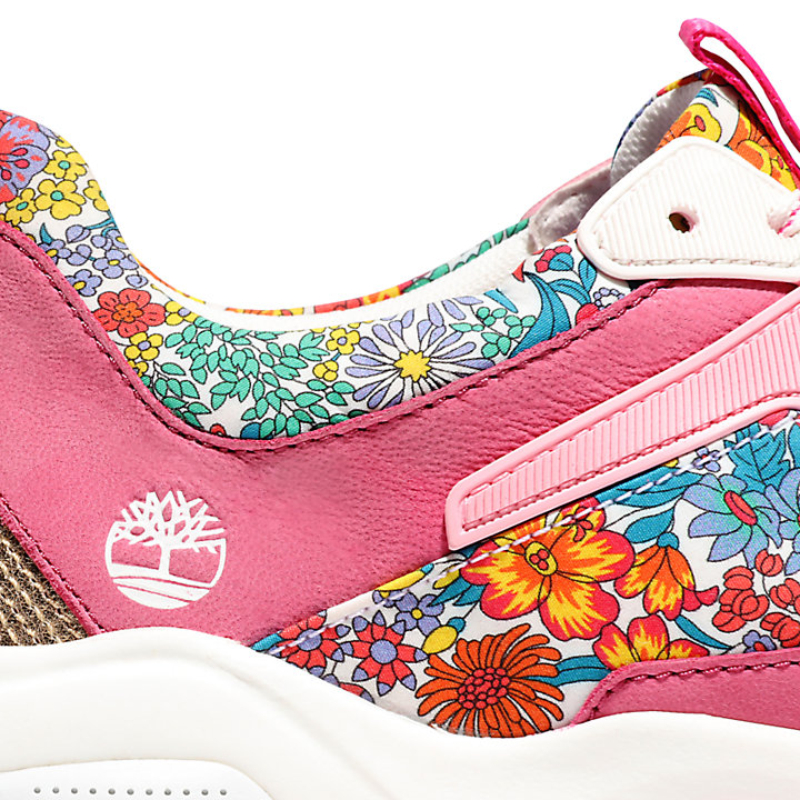 Timberland Made with Liberty Fabrics Sneaker voor Dames in roze-