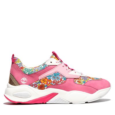 Timberland+Made+with+Liberty+Fabrics+Sneaker+voor+Dames+in+roze