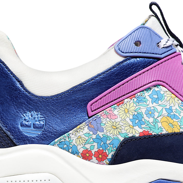 Timberland Made with Liberty Fabrics Sneaker voor Dames in marineblauw-