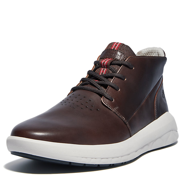 Bradstreet Ultra Chukka Boot for Men in Dark Brown-