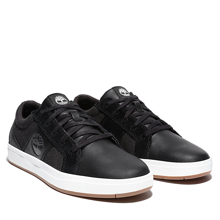 Davis Square Sneaker for Men in Black-