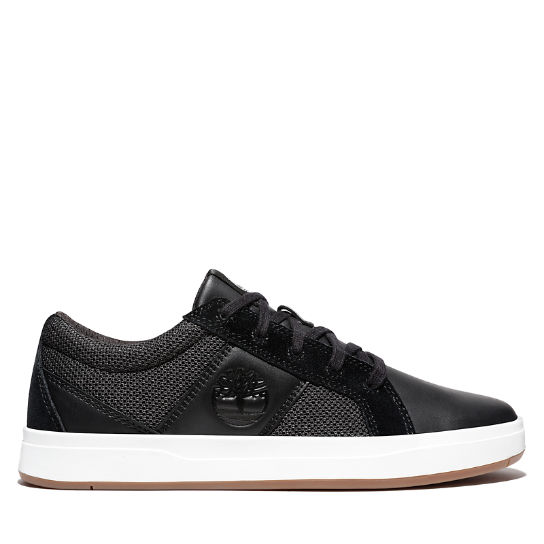 Davis Square Sneaker for Men in Black | Timberland
