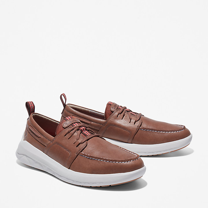 Bradstreet Ultra Boat Sneaker for Men in Dark Brown-