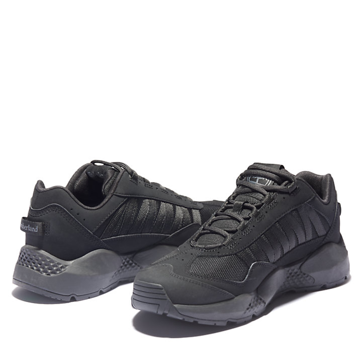 Ripcord Low Hiker for Men in Black-