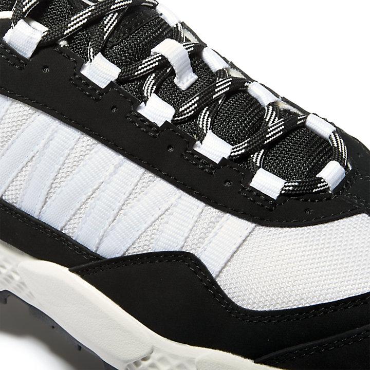 Bottine de randonnée basse Ripcord pour homme en noir/blanc-