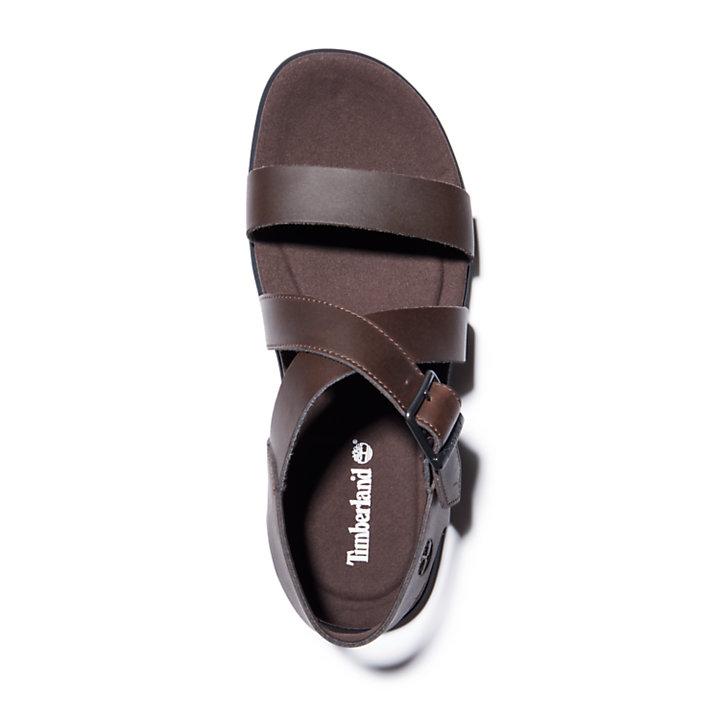 Sandalo da Uomo con Cinturino sul Retro Kesler Cove in marrone-