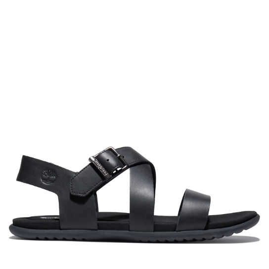 Kesler Cove Backstrap Sandal for Men in Black | Timberland