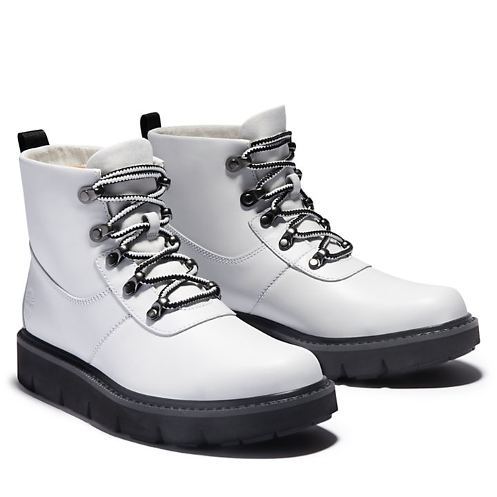 Raywood Hiking Boot for Women in White-