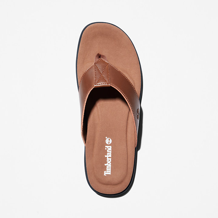 Kesler Cove Toe-bar Sandal for Men in Brown-