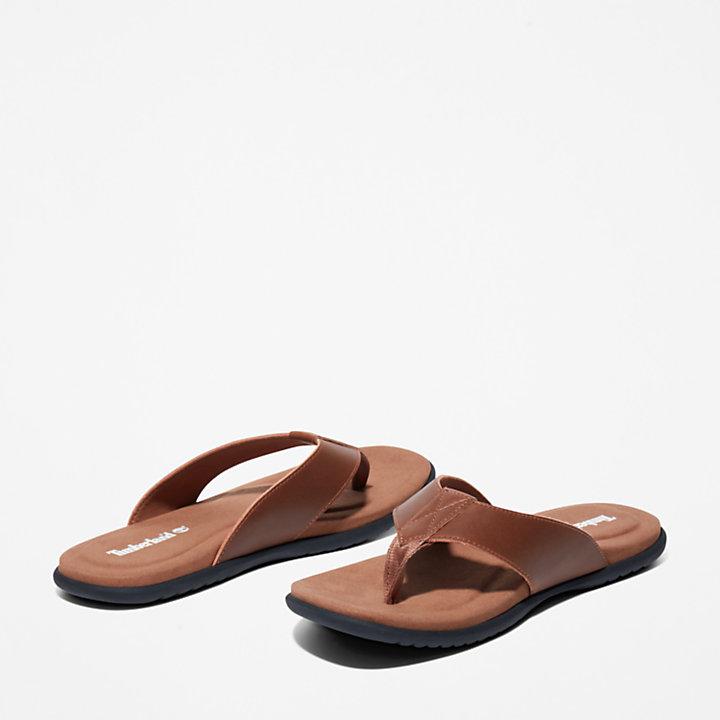Kesler Cove Toe-bar Sandal for Men in Brown-