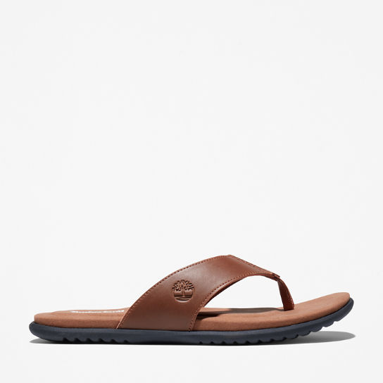 Kesler Cove Toe-bar Sandal for Men in Brown | Timberland