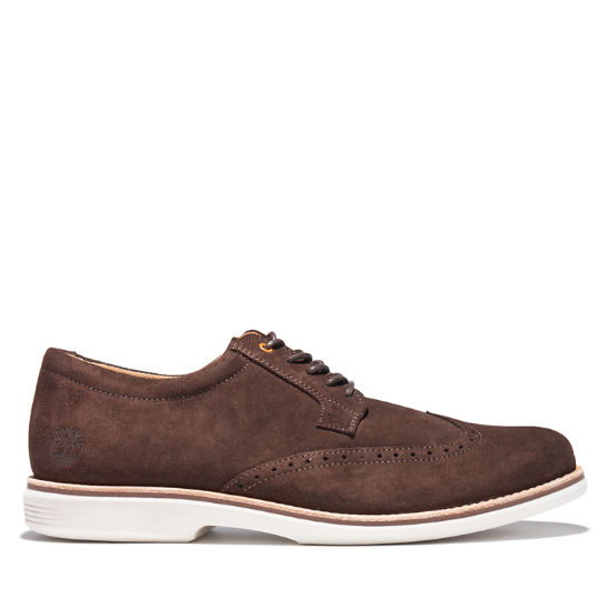 City Groove Brogue Oxford for Men in Brown | Timberland