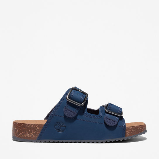 Castle Island Slide Sandal for Youth in Navy | Timberland