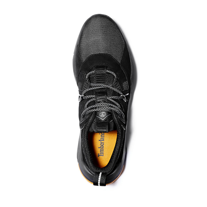 Madbury Leather Sneaker for Men in Black-