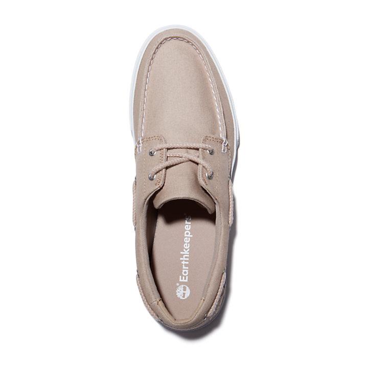 Union Wharf 2.0 EK+ Boat Shoe for Men in Beige-