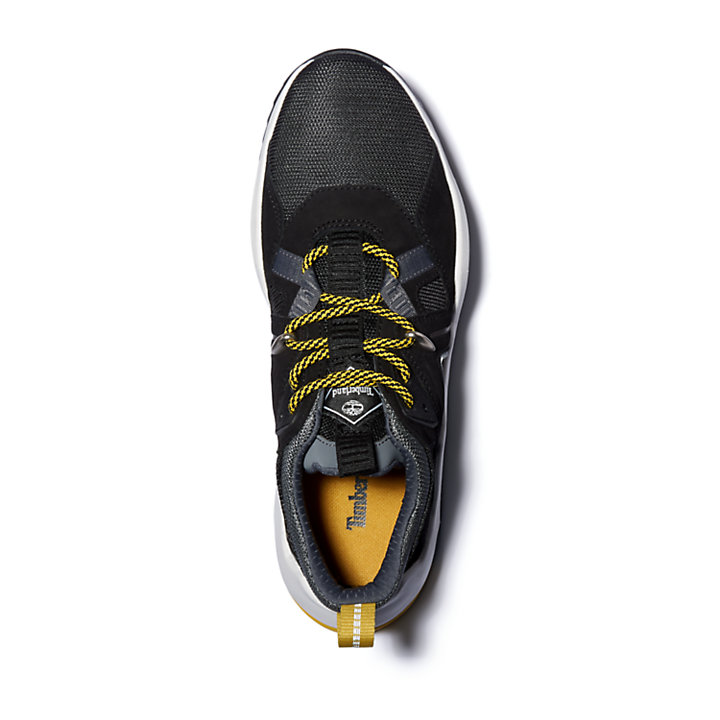 Madbury Leather Sneaker for Women in Black-