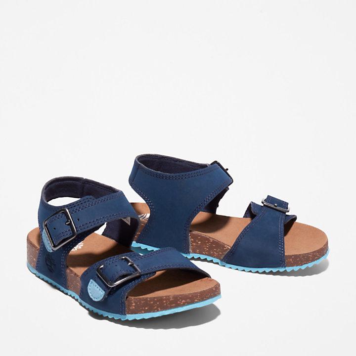 Sandalia de Tiras Castle Island para Niño (de 35,5 a 40) en azul marino-