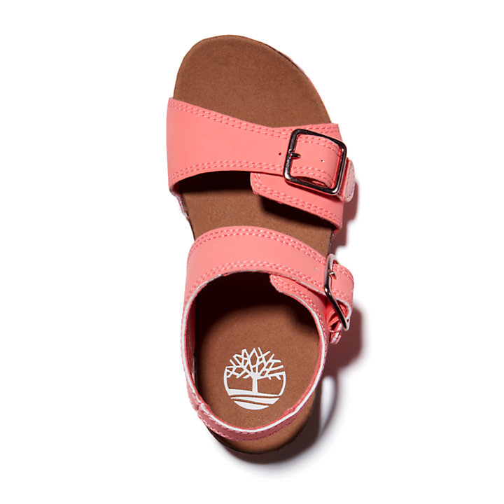 Castle Island Backstrap Sandal for Junior in Pink-