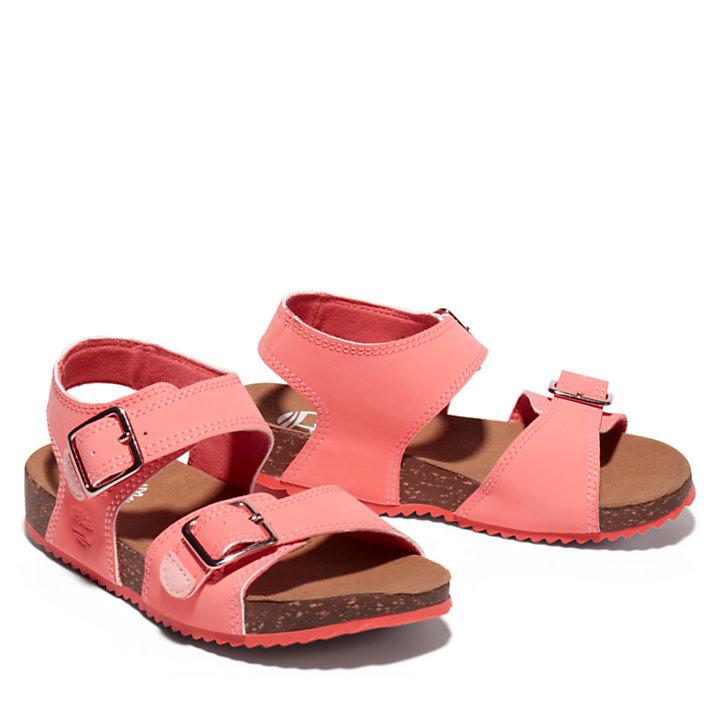 Castle Island Sandale mit Fersenriemchen für Kinder in Pink-