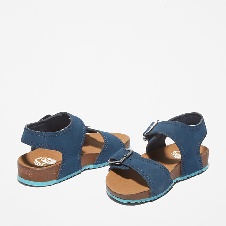Castle Island Sandal for Toddler in Navy-