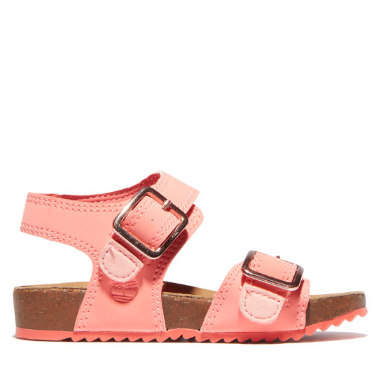 Castle Island Sandal for Toddler in Pink | Timberland