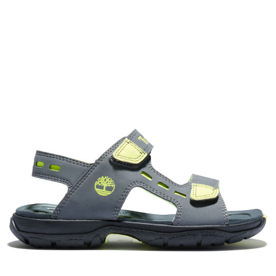 Moss Jump Sandal for Junior in Grey | Timberland