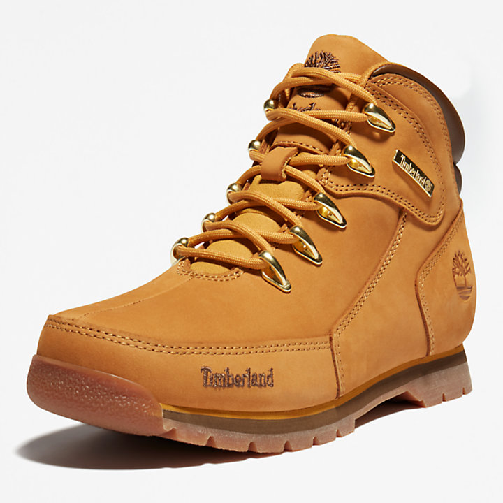 Euro Rock Hiking Boot for Junior in Yellow-