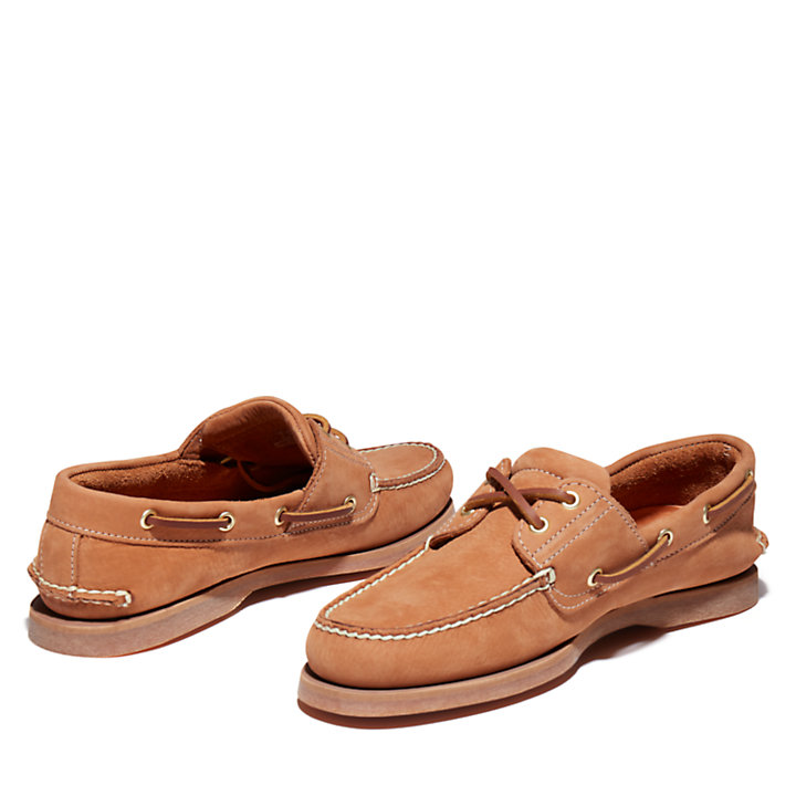 Classic Boat Shoe for Men in Beige-