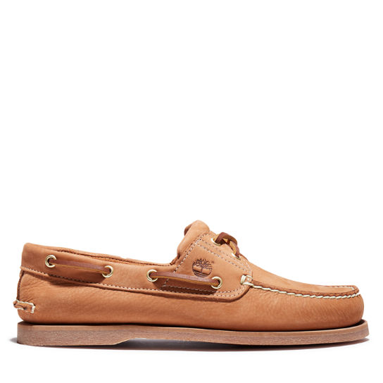 Classic Boat Shoe for Men in Beige | Timberland