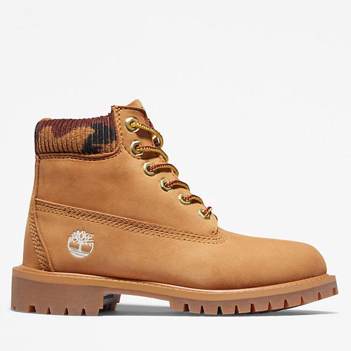 Timberland® Premium 6-Inch Boot voor kids in geel-