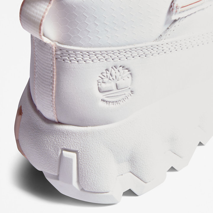 GreenStride™ Edge Boot for Women in White-