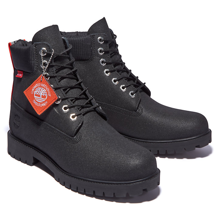 Timberland® Heritage 6 Inch Winter Boot for Men in Black Helcor®-