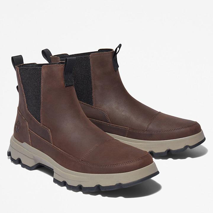 GreenStride™ TBL® Originals Ultra Chelsea Boot for Men in Dark Brown-