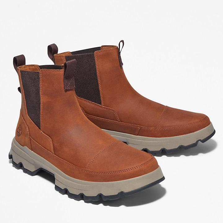GreenStride™ TBL® Originals Ultra Chelsea Boot for Men in Brown-
