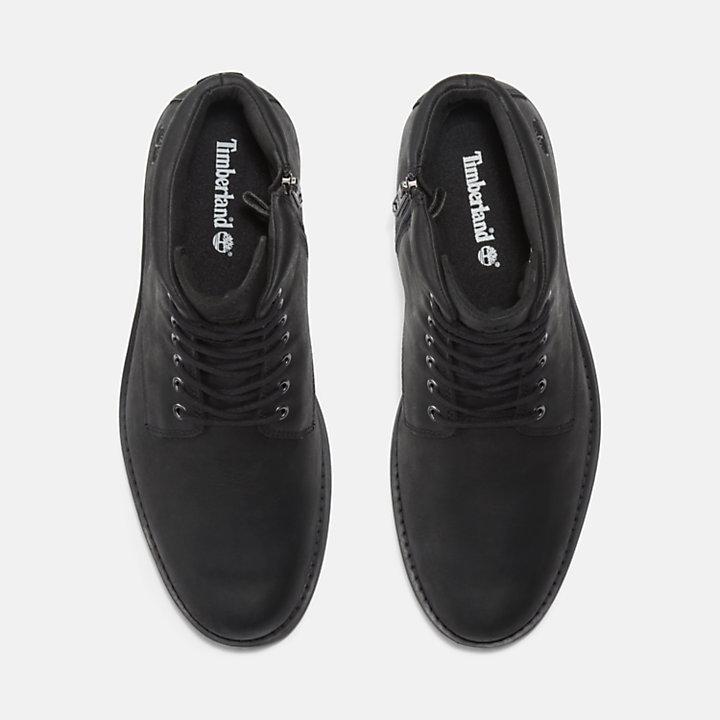 Alden Brook Side-Zip Boot for Men in Black-