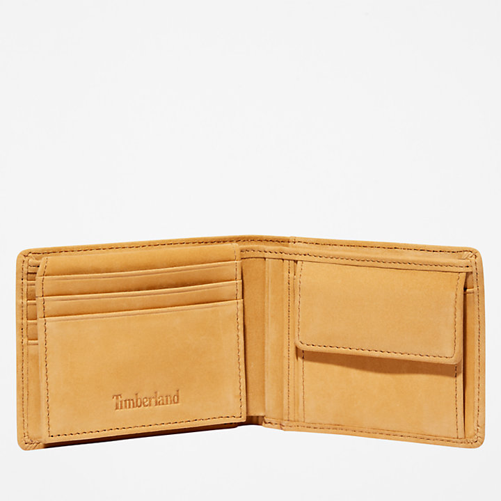 Stratham ID Wallet for Men in Yellow-