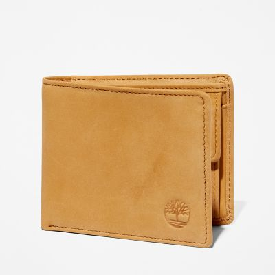 Stratham+ID+Wallet+for+Men+in+Yellow
