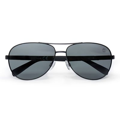Metal+Aviator+Sunglasses+for+Men+in+Black