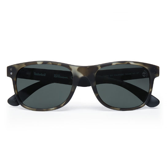 Herren Retro Sustainable Plastic Wayfarer Sunglasses | Timberland