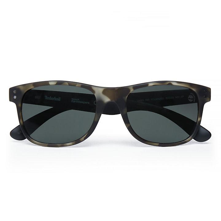 Gafas de Sol Sostenibles Retro Wayfarer para Hombre en Verde-