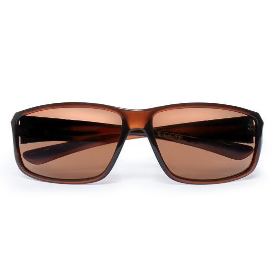 Classic Sustainable Plastic Sunglasses Uomo Marrone | Timberland