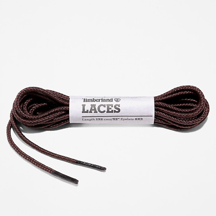 Replacement Round 52'' Shoelaces in Brown-