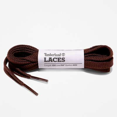 Lacets+de+rechange+132%C2%A0cm+en+marron