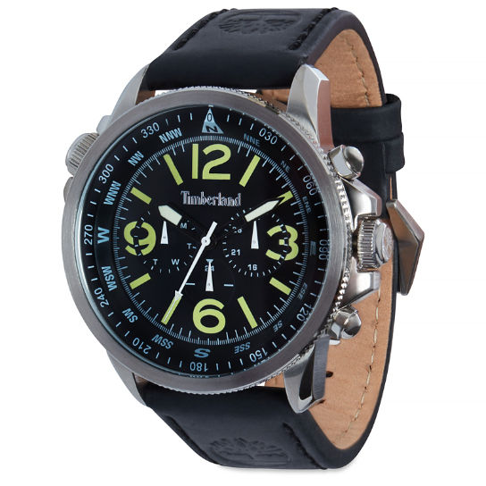Campton Watch for Men in Black | Timberland