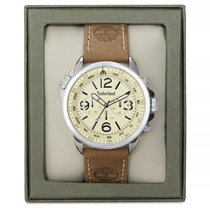 Crampton Horloge voor Heren in Beige-
