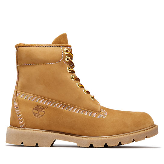 Yellow TIMBERLAND Lace up boots 6 IN BASIC BOOT NONCONTRAST