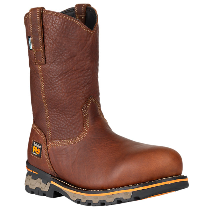 Men's Timberland PRO® AG Boss Alloy Toe Pull-On Work Boots-